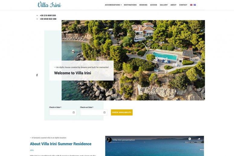 Google Ads σε Villa στο Πόρτο Χέλι
