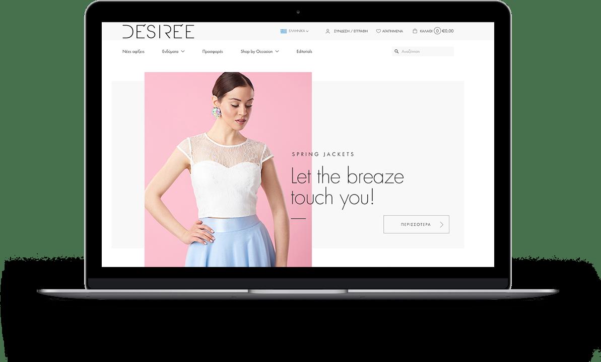 desiree on Macbook